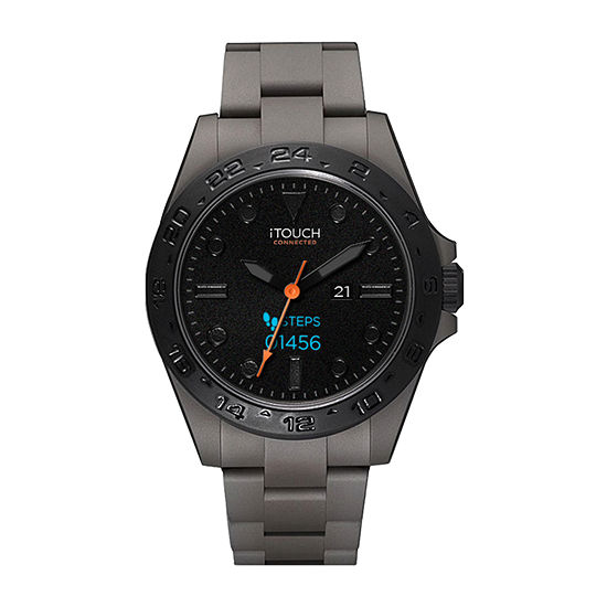 Itouch Connected Unisex Adult Gray Smart Watch-50182gy-51-G04