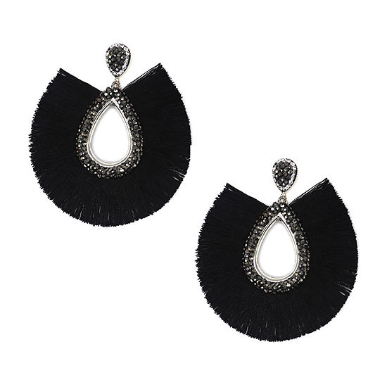 Bijoux Bar Crystal Drop Earrings