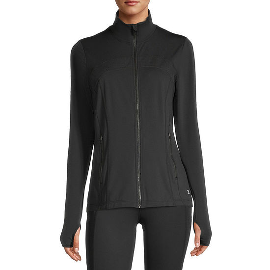 Xersion Womens Mock Neck Jacket