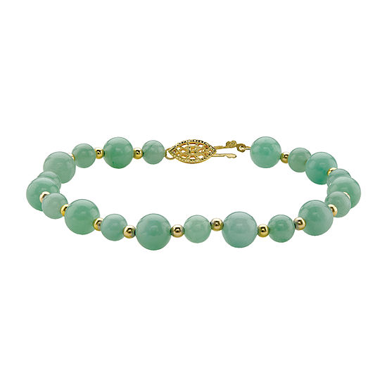 Genuine Green Jade Strand Bracelets