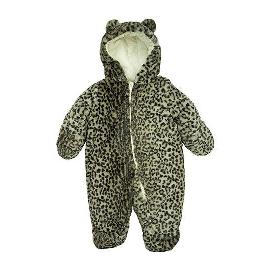 Carter's Baby Girls Heavyweight Cheetah Snow Suit