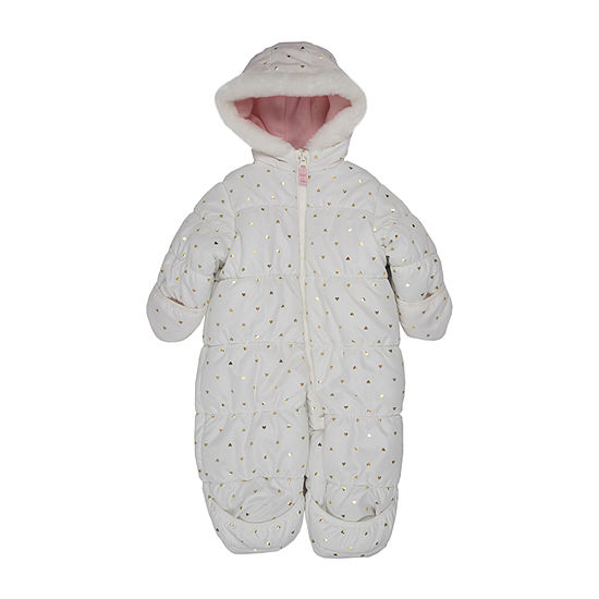 Carter's Baby Girls Heavyweight Hearts Snow Suit