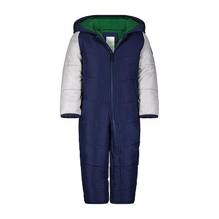 Carter's Baby Girls Heavyweight Snow Suit, 6-9 Months , Blue - 34104970075