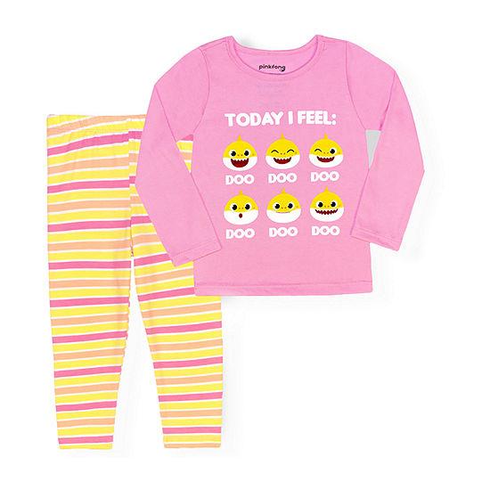 Nickelodeon Toddler Girls 2-pc. Baby Shark Legging Set