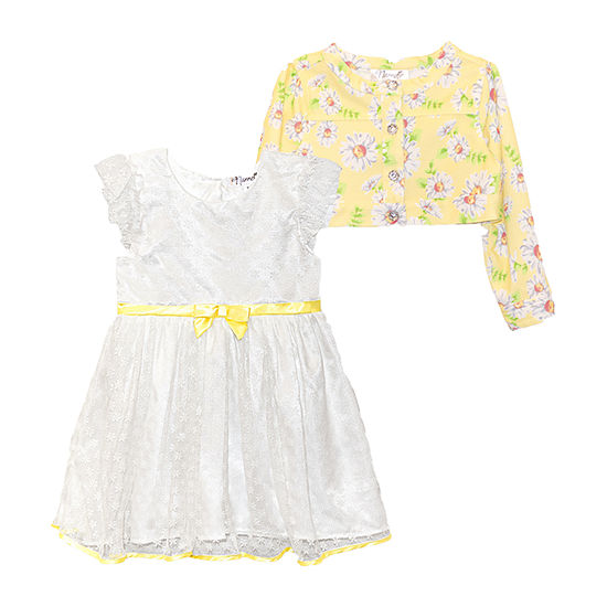 Nannette Baby Toddler Girls Sleeveless 2-pc. Dress Set