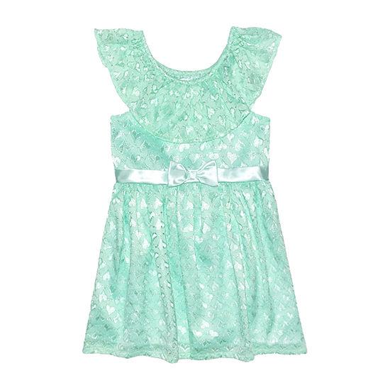Nannette Baby Toddler Girls Sleeveless A-Line Dress