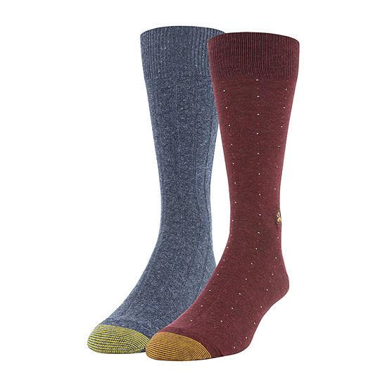 Gildan Mens 2 Pair Crew Socks