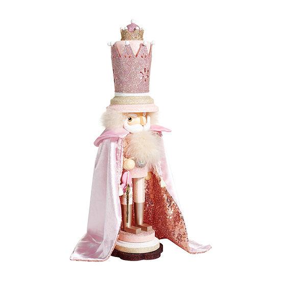 Kurt Adler 19-Inch Hollywood™ Pink King Christmas Nutcracker