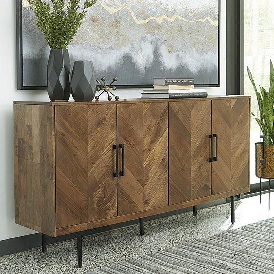 Signature Design by Ashley Prattville Accent Cabinet