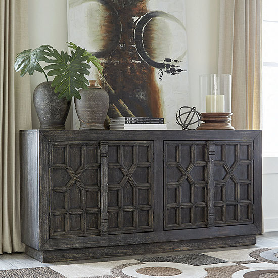 Signature Design by Ashley Roseworth Accent Cabinet