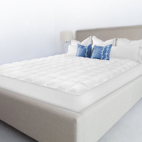 Sensorpedic Top Loft Luxury Gel Fiber Mattress Pad
