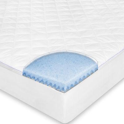 SensorPEDIC® MemoryLOFT® Repel-A-Tex® Memory Foam Euro-Top Mattress Pad