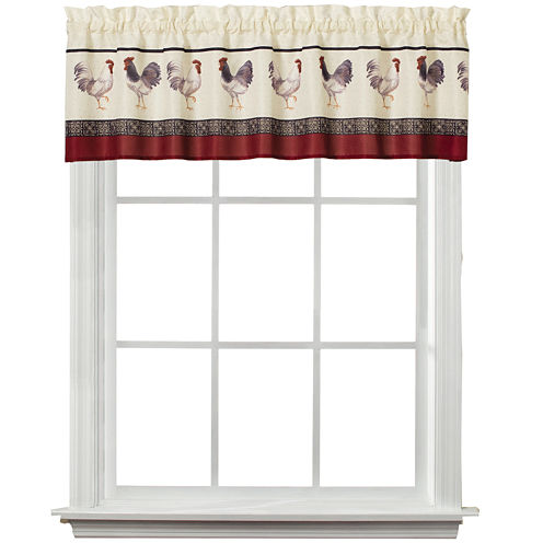 French Country Rod-Pocket Valance
