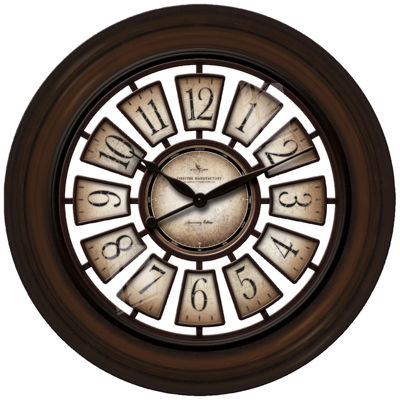 "FirsTime® Oversized 29"" Majestic Hollow Wall Clock"