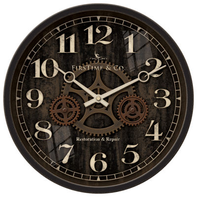 FirsTime® Industrial Gears Wall Clock