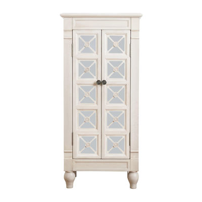 Hives & Honey Alana Century White Jewelry Armoire