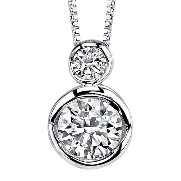 Sirena® 1/4 CT. T.W. Diamond 14K White Gold Pendant