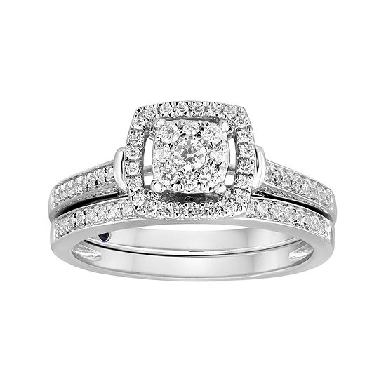 I Said Yes™ 3/8 CT. T.W. Diamond Bridal Set