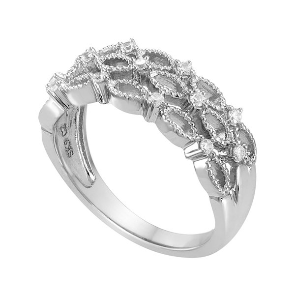 I Said Yes™ 1/5 CT. T.W. Diamond Bridal Ring
