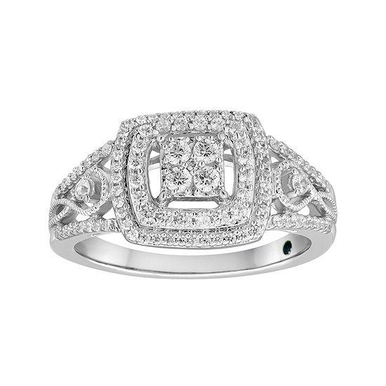 I Said Yes™ 1/2 CT. T.W. Diamond Engagement Ring