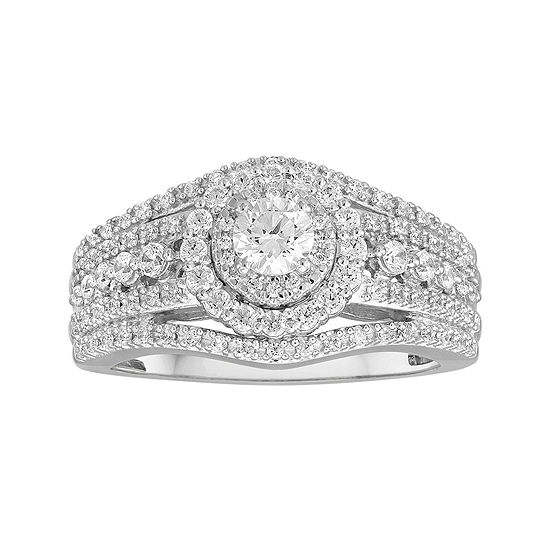 I Said Yes 1 Ct Tw Diamond 10k Two Tone Engagement Ring