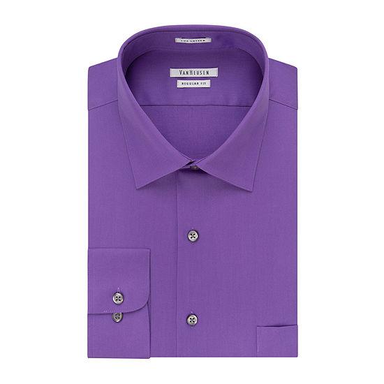 Van Heusen® Lux Sateen Long-Sleeve Dress Shirt