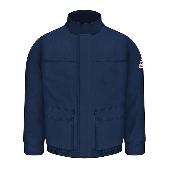 Bulwark® Mens Flame-Resistant Lined Bomber Jacket