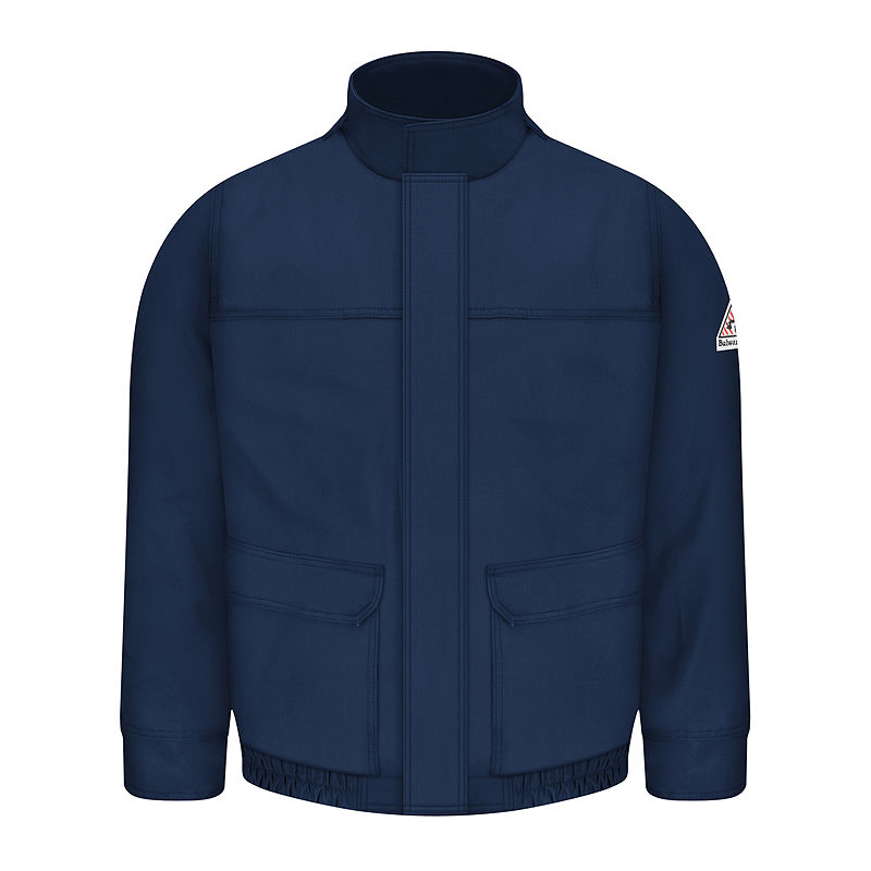 Bulwark Lined Bomber Jacket – Big & Tall, Mens, Navy, Size Large Tall