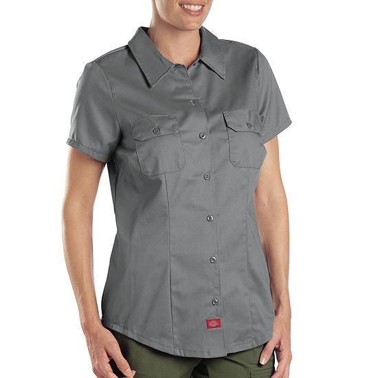 a2a8b2c4 Dickies® Women's Short-Sleeve Work Shirt - JCPenney