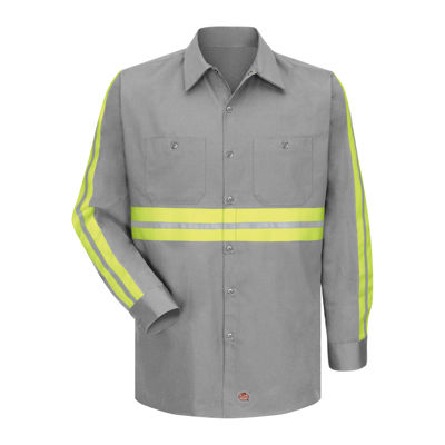 Red Kap® Enhanced Visibility Work Shirt