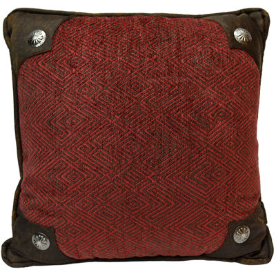 HiEnd Accents Wilderness Ridge Square Decorative Pillow