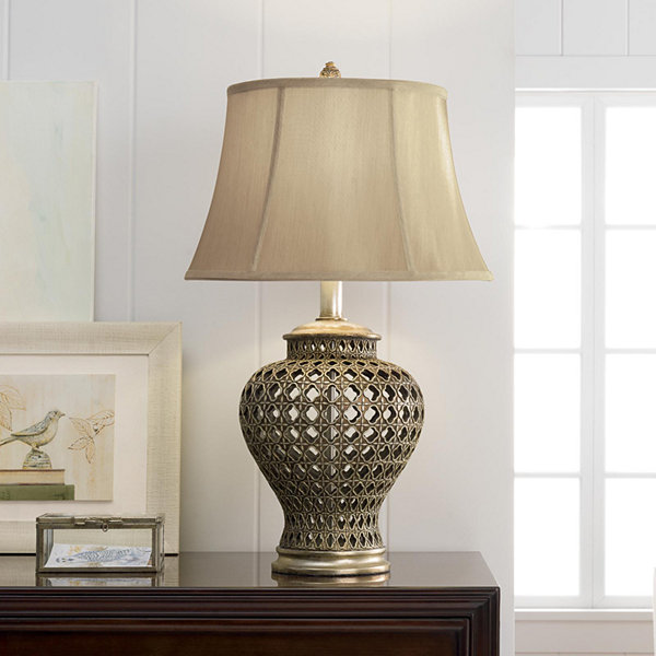 Jcpenney home pierced urn table lamp jcpenney jcpenney home pierced urn table lamp aloadofball Images