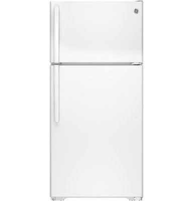 GE® ENERGY STAR® 14.6 Cu. Ft. Top Freezer Refrigerator