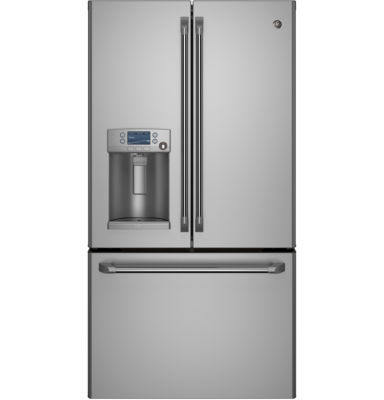 GE Cafe ENERGY STAR® 22.1 Cu. Ft. French Door Refrigerator Counter Depth