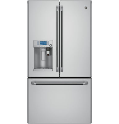 GE Cafe™ ENERGY STAR® 22.2 Cu. Ft. French Door Refrigerator With Keurig® K-Cup® Brewing System