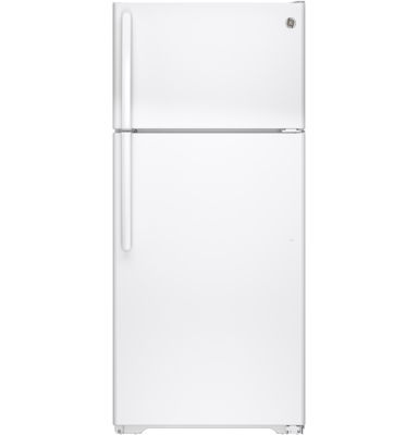 GE® ENERGY STAR® 15.5 Cu. Ft. Top Freezer Refrigerator