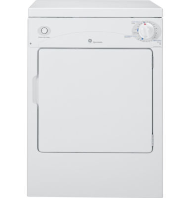 GE Spacemaker® 120V 3.6 cu. ft. Portable Electric Dryer
