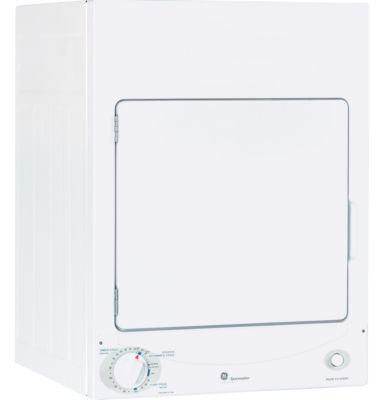 GE Spacemaker® 120V 3.6 cu. ft. Stationary Electric Dryer