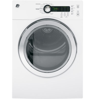 GE® 4.0 cu. ft. Electric Dryer with SensorDry™ Technology
