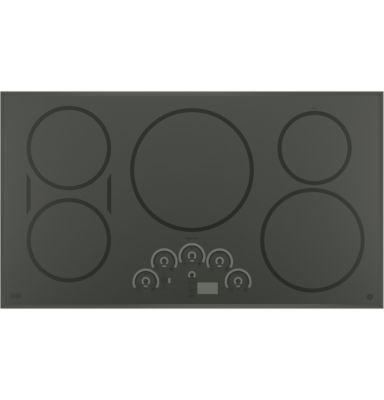 "GE Café ™  36"" Built-In Touch Control Induction Cooktop With 5 Elements"