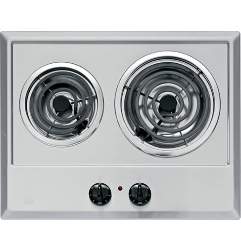GE® Built-In Electric Cooktop With 2 Elements