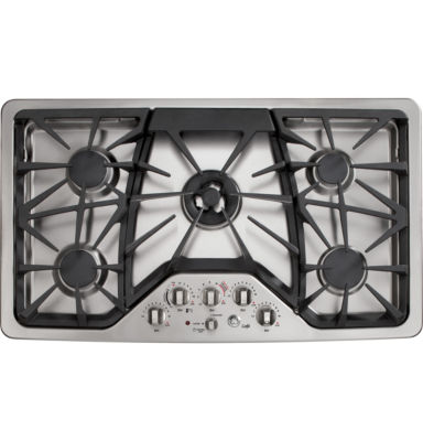 "GE Café™  36"" Built-In Gas Cooktop With 5 Burners"
