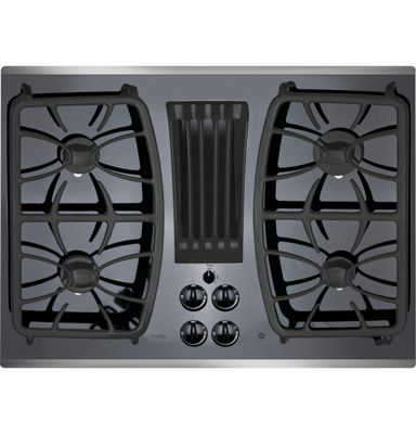 "GE Profile™  30"" Built-In Gas Downdraft Cooktop With 4 Burners"