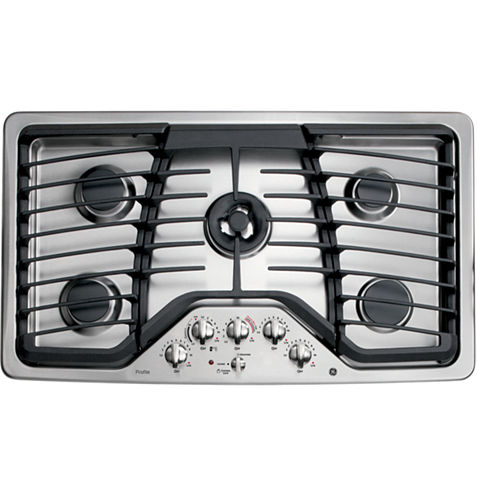 """GE Profile™  36"""" Built-In Gas Cooktop With 5 Burners"""