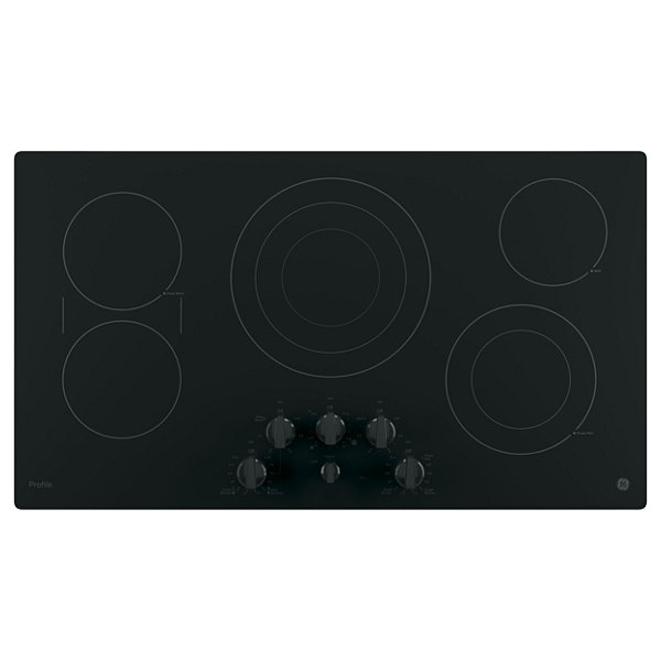 "GE Profile™  36"" Built-In Knob Control Cooktop With 5 Elements"