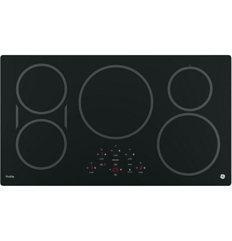"""GE Profile™  36"""" Built-In Touch Control Induction Cooktop With 5 Elements"""