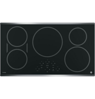 "GE Profile™  36"" Built-In Touch Control Induction Cooktop With 5 Elements"