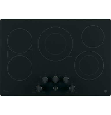 "GE Profile™  30"" Built-In Knob Control Electric Cooktop With 5 Elements"