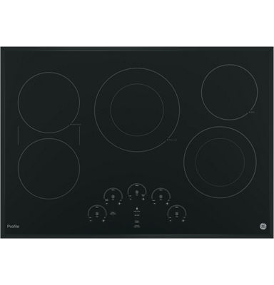 "GE Profile™  30"" Built-In Touch Control Electric Cooktop With 5 Elements"
