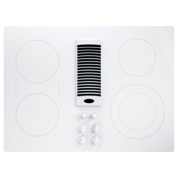 "GE Profile™  30"" Downdraft Electric Cooktop With 4 Elements"